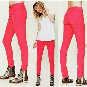 Free People skinny corduroy pants 26